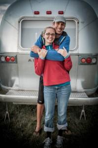 Nathan and Johanna at Alumapalooza 2012